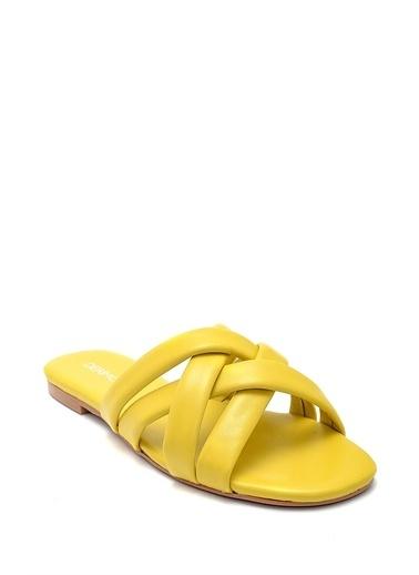 Derimod Kadın Terlik (33601) Casual Sarı